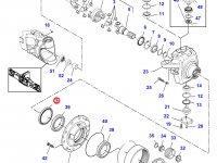 Сальник бортового редуктора переднего моста трактора Challenger — 000051867