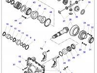 Диск фрикционный дифференциала моста трактора Challenger — 000727512A