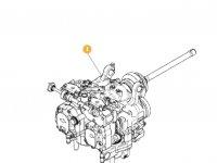 Блок передачи VARIO ML260.2 трактора Massey Ferguson — 0099954000000