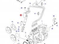 Форсунка двигателя Sisu Diesel — 836639956