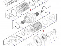 Фрикционный диск КПП трактор Challenger — 134-8360