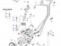 Топливный насос высокого давления (ТНВД) двигателя Sisu Diesel — 836754829