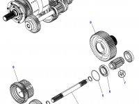 Шариковый подшипник промежуточного вала КПП трактора Challenger — 1440508X1