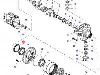 Сальник бортового редуктора переднего моста трактора Challenger — 1630700901