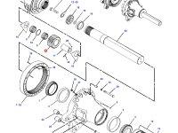 Планетарная (сателлитная) шестерня бортового редуктора трактора Challenger (30 зубьев) — 164-3903