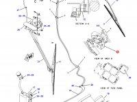 Моторчик щетки стеклоочистителя трактора Challenger — 166-4596