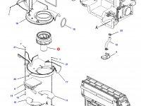 Вентилятор печки отопителя кондиционера кабины трактора Challenger — 168-2313