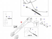 Левая тяга навески трактора (L=940) — 35471520