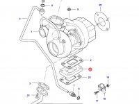Фланец турбокомпрессора двигателя Sisu Diesel — 837074411