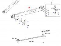 Правая тяга навески трактора — 33769200