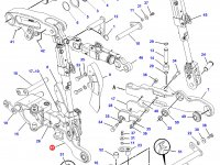 Левая тяга навески трактора Challenger — 170-2330