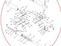Натяжитель гусеницы для гусеничных тракторов Challenger (правая сторона) — 176-2974