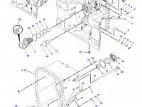 Картер КПП трактор Challenger (передний) — 177-6774