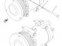 Компрессор кондиционера кабины трактора Challenger — 178-9570