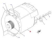 Генератор трактора Challenger — 184-7171
