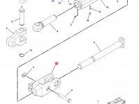 Вилка раскоса навески трактора Challenger — 186-0993