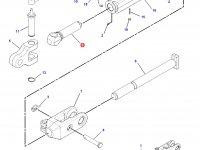 Шарнирная головка/винт раскоса навески трактора Challenger — 186-1020