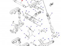 Вал рычагов навески трактора Challenger — 186-1063