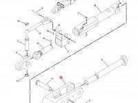 Вилка раскоса навески трактора Challenger — 186-1093