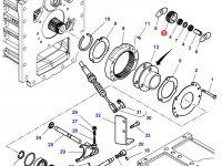 Сателлитная шестерня понижающей передачи КПП трактора Challenger (23 зуба) — 1866552M1