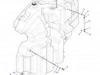 Топливный бак трактора Challenger - Правая сторона — 188-0771