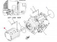 Насос гидравлический трактора Challenger (90cc) — 189-2957