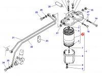 Топливный сепаратор трактора Challenger — 1896287M91