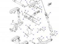 Рычаг навески для тракторов Challenger — 190-2624