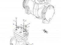 Воздушный компрессор трактора Challenger — 193-3940