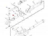 Шарнирная головка/винт раскоса навески трактора Challenger — 197-4647