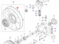 Крыльчатка (вентилятор) радиатора двигателя Sisu Diesel — 836762434