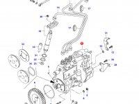 Топливный насос высокого давления (ТНВД) двигателя Sisu Diesel — 836640199