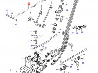 Трубка отвода топлива (топливоотвод) двигателя Sisu Diesel — 836847522