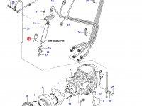 Распылитель топливной форсунки двигателя Sisu Diesel — 836854941