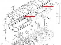 Прокладка клапанной крышки двигателя Sisu Diesel — 837067881