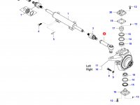 Наконечник рулевой тяги трактора — 35728300