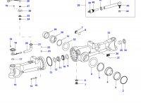 Наконечник рулевой тяги трактора — 35027500