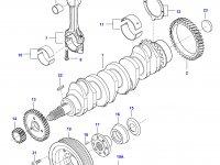 Поршень двигателя Sius Diesel — 837070041