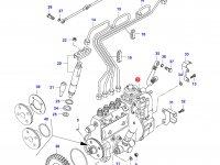 Топливный насос высокого давления (ТНВД) двигателя Sisu Diesel — 836754640
