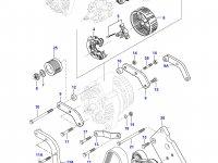 Ремень генератора двигателя Sisu Diesel — 685061755