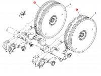 Ведущее колесо гусеницы для тракторов Challenger (87 мм) — 1R-1233