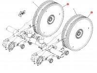 Ведущее колесо гусеницы для тракторов Challenger (87 мм) — 1R-1248