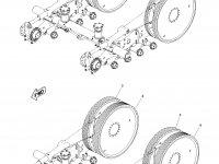 Ведущее колесо гусеницы для тракторов Challenger (112 мм) — 1R-1249