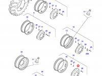 Вставка переднего колесного диска трактора — 32579900