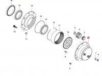Крышка бортовой (бортового редуктора) — 36699000