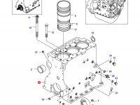 Блок двигателя Sisu Diesel — 836424192