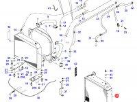 Радиатор двигателя Sisu Diesel — 34391110