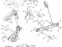 Раскос навески трактора Challenger — 200-0007