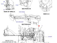 Патрубок радиатора трактора Challenger — 205-1645