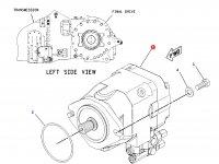Насос гидравлический трактора Challenger (63cc) — 205-5980